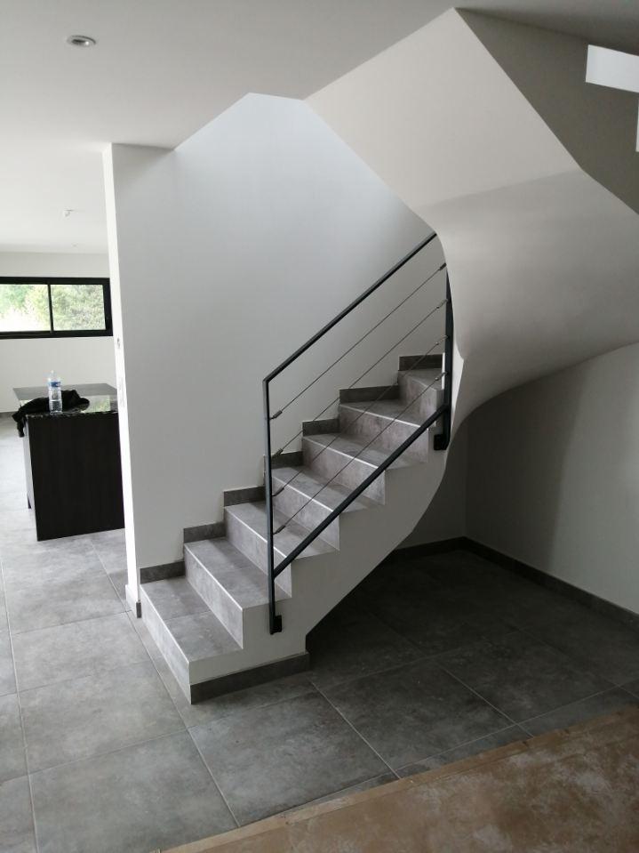 Construction Maison contemporaine Pente Charbonniere 69