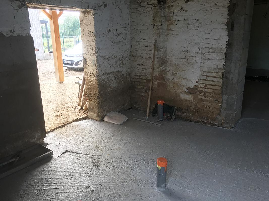Renovation & Agrandissement d'ungarage en habitation dans l'Ain