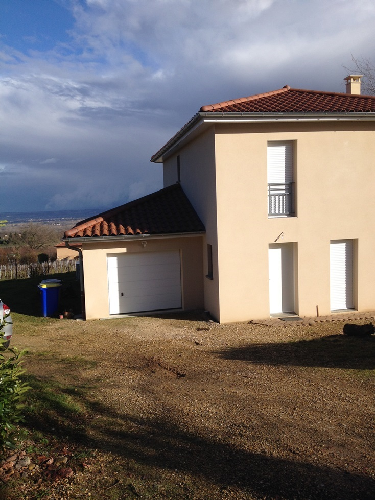 extension de maison dans le Rhône terrasse Lyon
