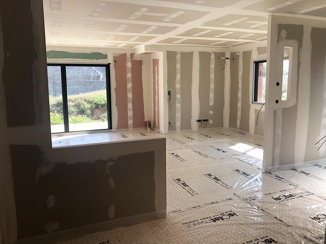 maison de plein-pied, construction dans l'Ain