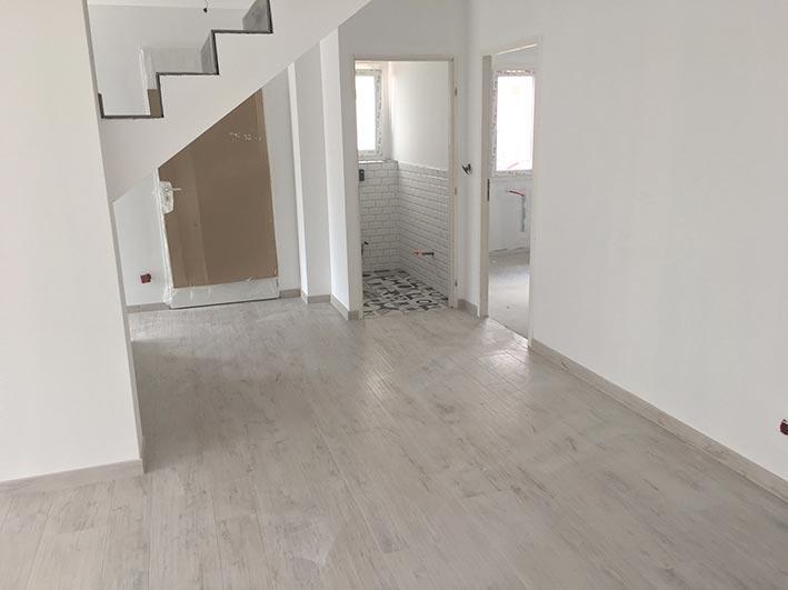 Construction de maison sur Craponne, Ouest Lyon, sur petit terrain, maison neuve à étage