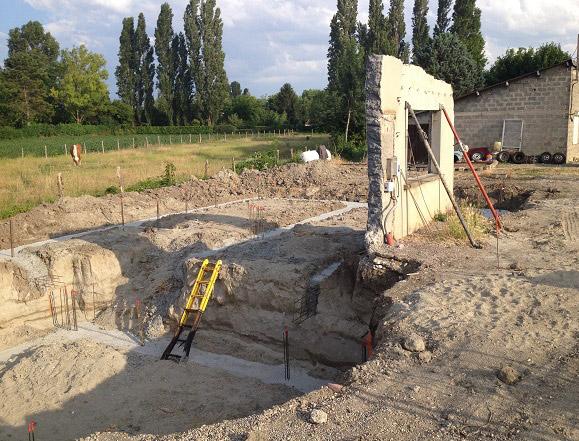 construction de maison neuve, individuel