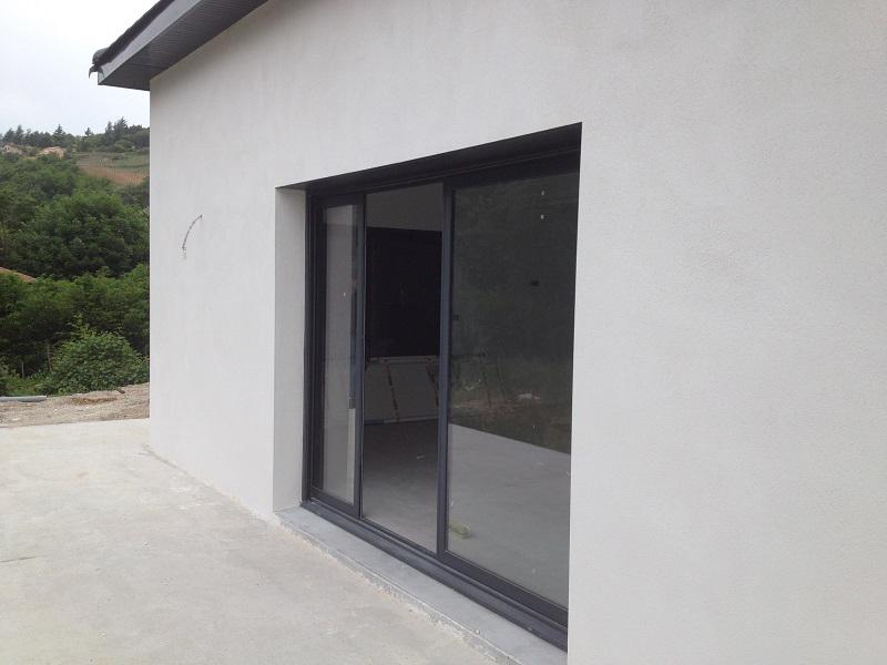 construction de maison en Isère, maison individuelle en brique