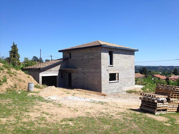 construction de maison contemporaine