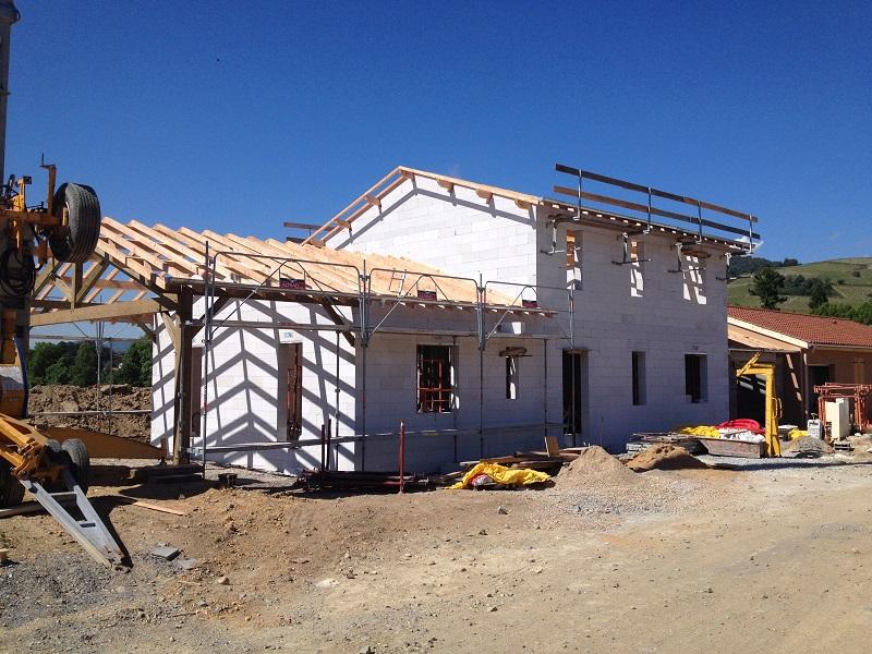 Construction de maison individuelle dans la région Lyonnaise