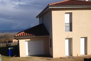 Agrandissement |Construction d'une extension d'habitation dans le Rhône