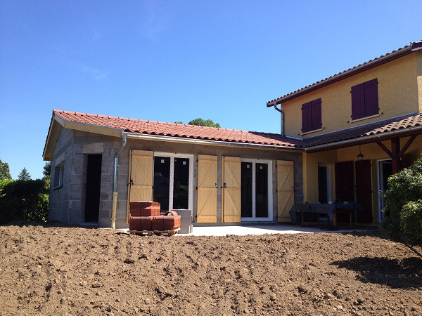 extension d'habitation, agrandissement d'espace habitable