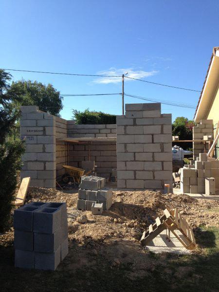 extension d'habitation, agrandissement de maison