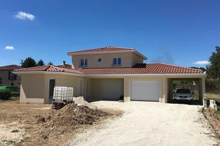 Construction d'une maison dans l'Ain – maître d'œuvre VI2A