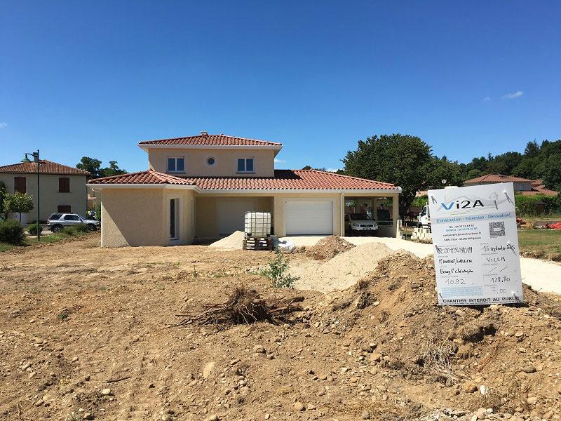 construction de maison dans l'Ain