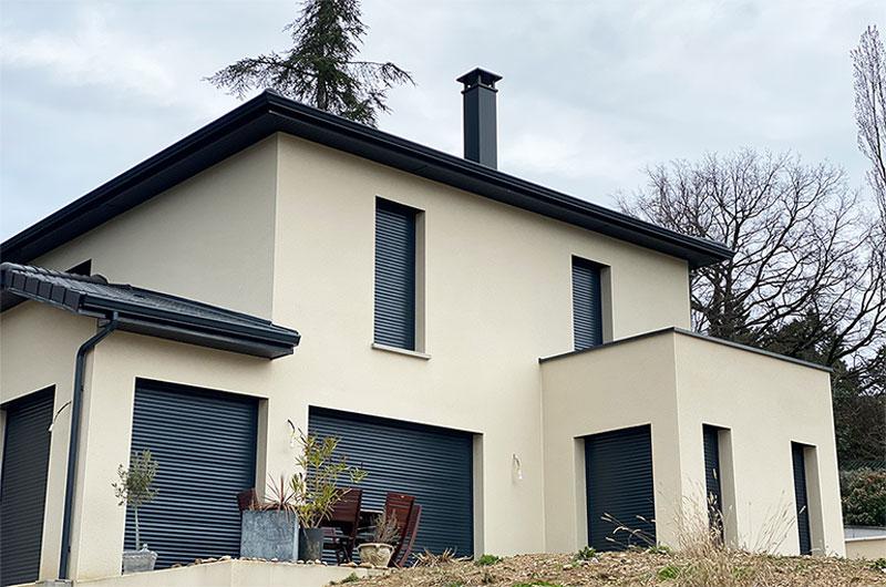 maison contemporaine lyon vi2a