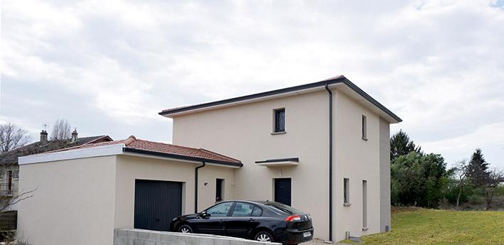 Maison Moderne, construction maison neuve dans l'Ain