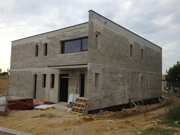 construction de maison neuve dans l'Ain, style contemporain