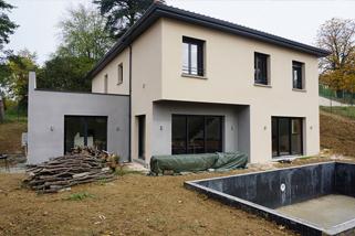 Maître d'œuvre sur Lyon | Construction de maison contemporaine